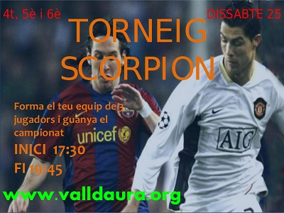 Torneig Scorpion Club Valldaura