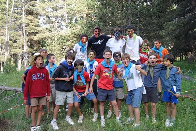 Campament Pirata a La Molina 2012 - Club Valldaura