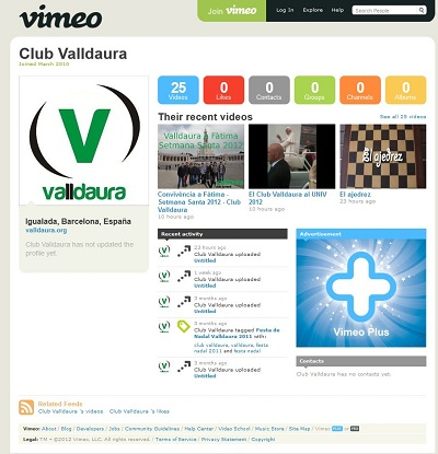 El Club Valldaura a Vimeo